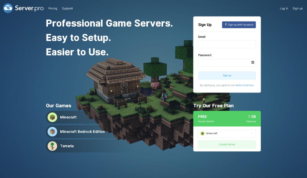 Server Pro server kurma