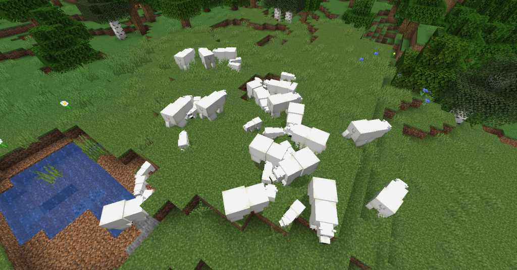 minecraft kutup ayısı ne yer