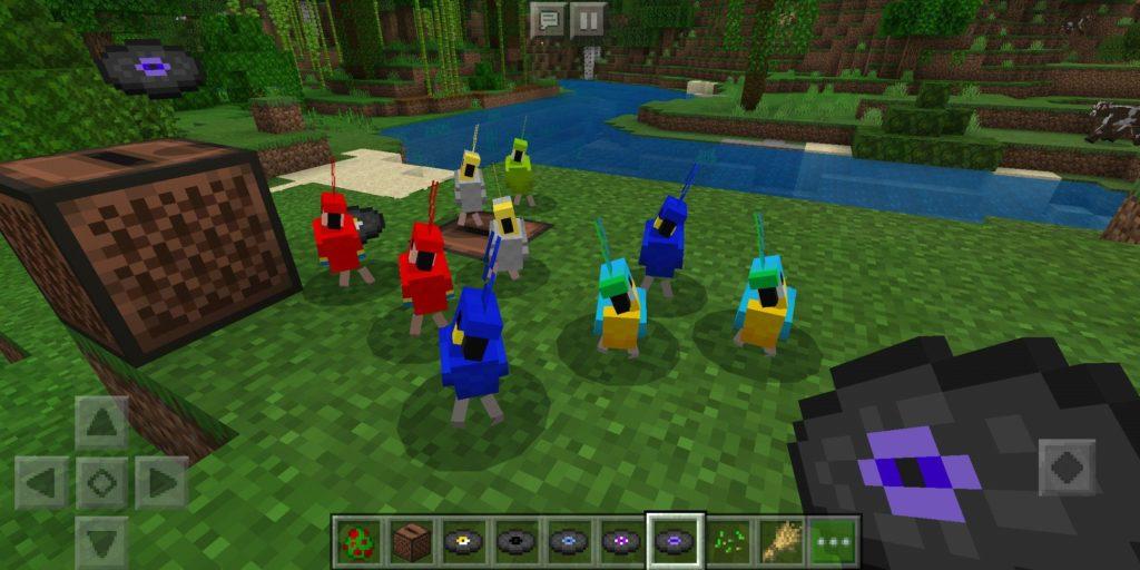 minecraft-papağanlar-nedir